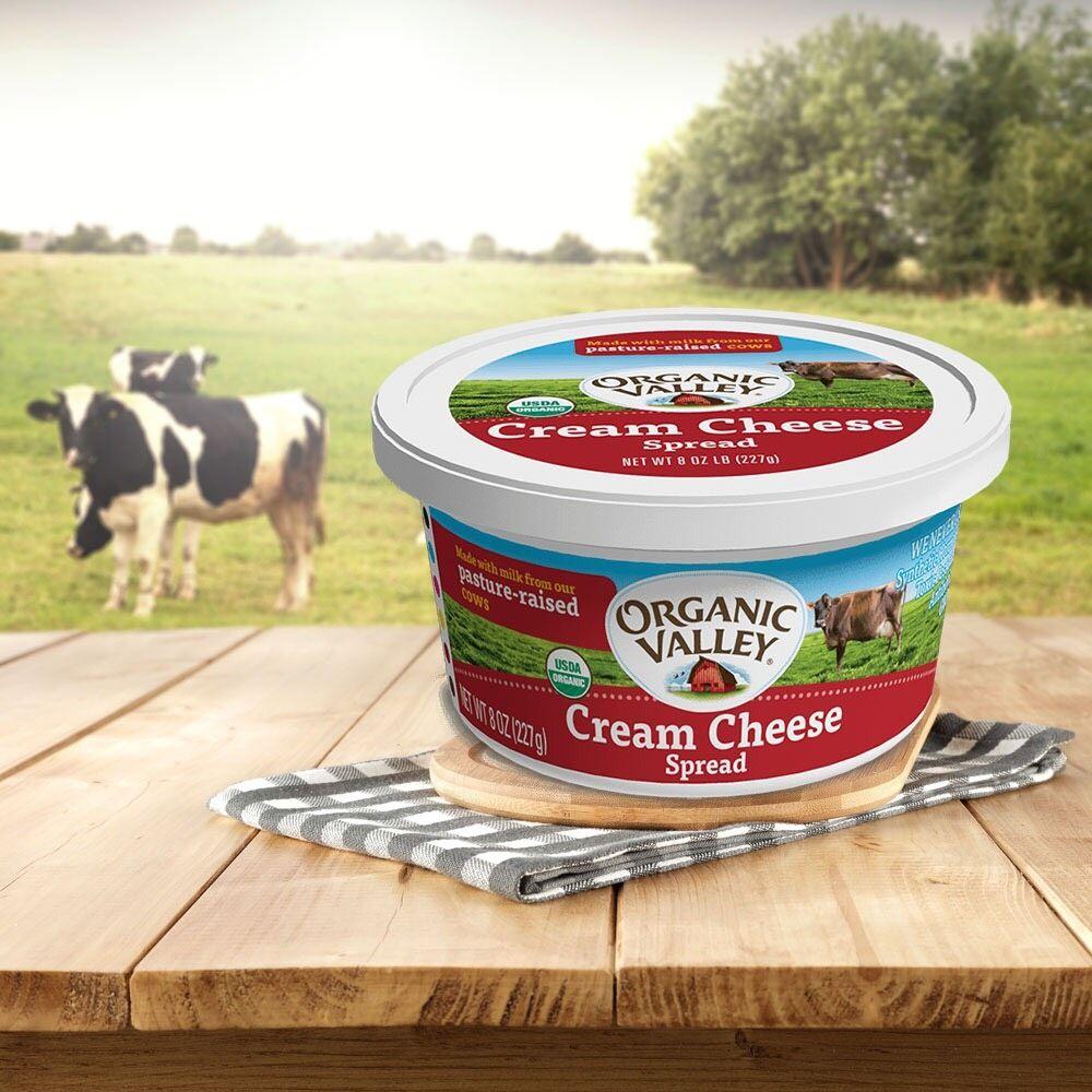 Organic Valley 有機奶油乳酪
